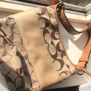 Real coach purse used in great condition
